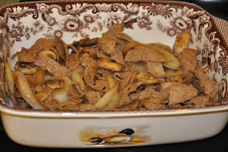 Quick Skillet Steak With Onions And Mushrooms Recipe — Dishmaps