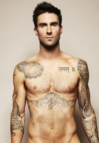 ok so i really like shirtless guys with tattoos so what
