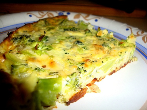 crustless broccoli and cheese quiche | food & Drinks | Pinterest