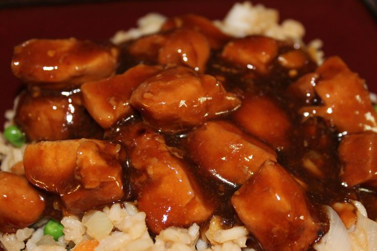 Bourbon Chicken   Good Eats   Pinterest