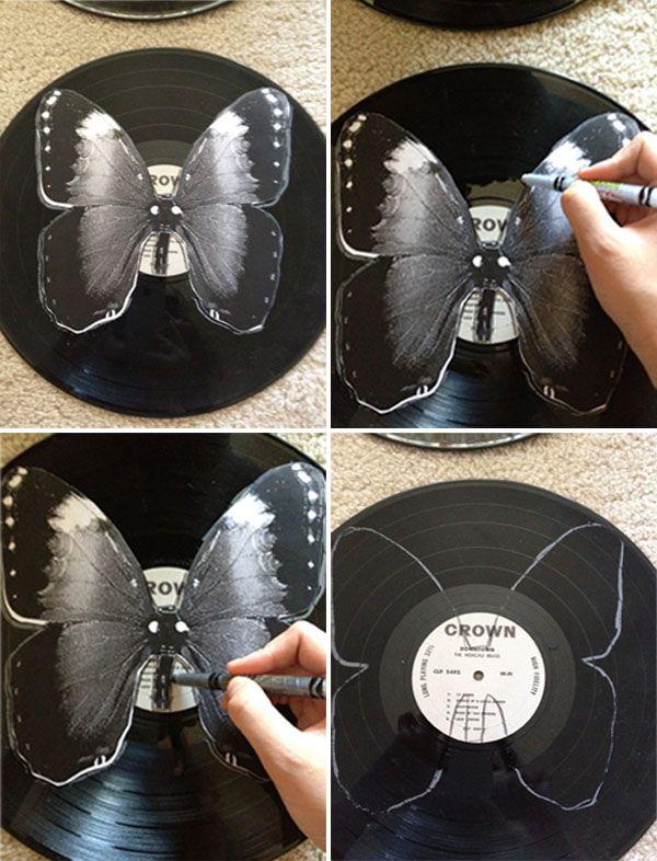 Как сделать из пластинки своими руками