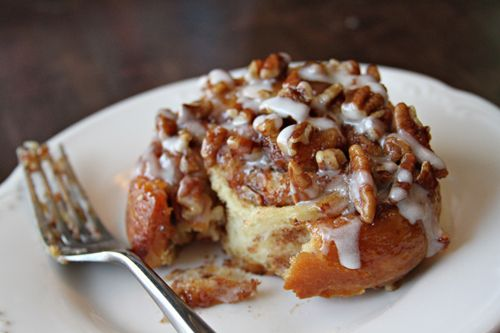 Sticky Pecan Cinnamon Buns. The aroma is sure to get everyone out of ...