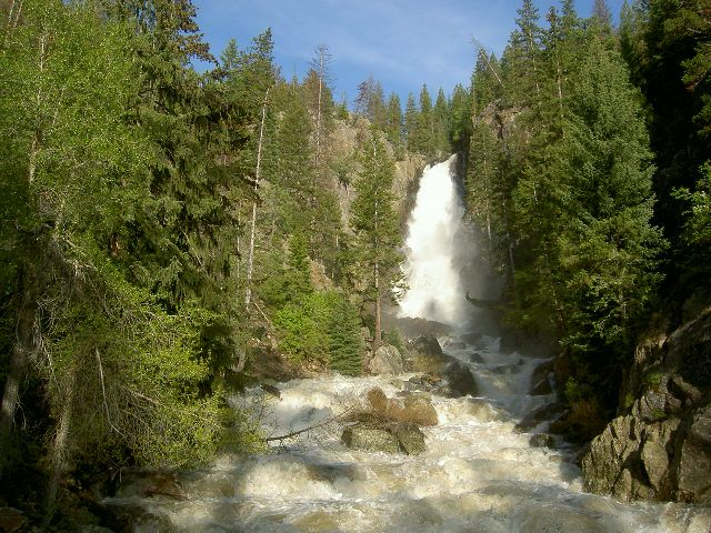 fish creek falls routt county colorado colorado the