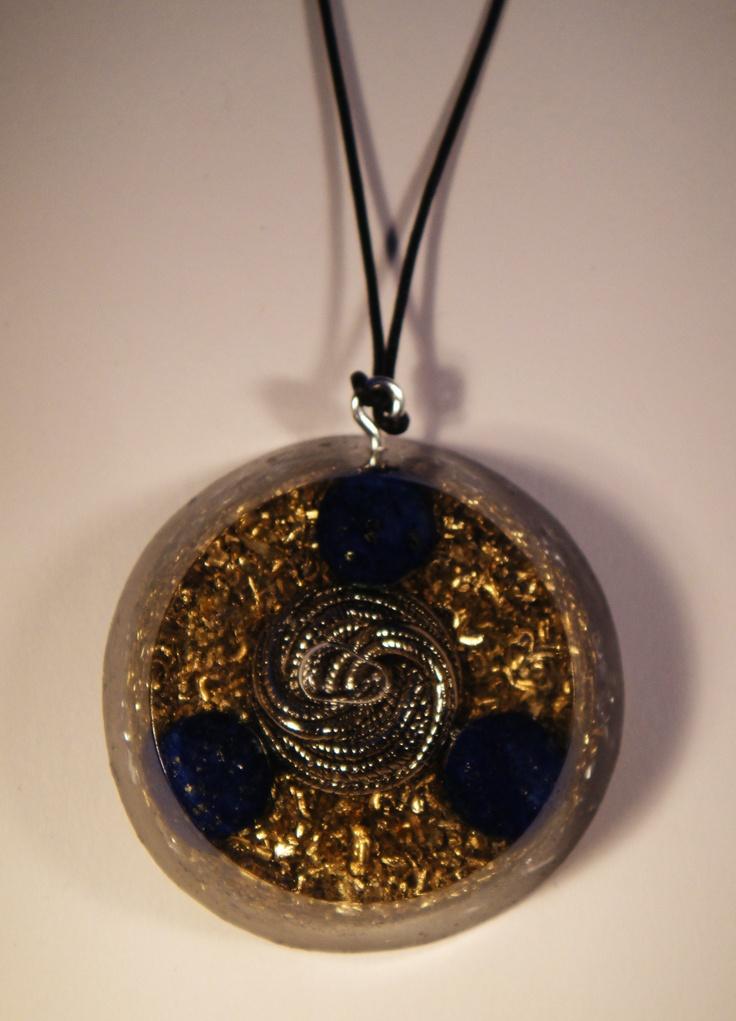 lapis lazuli orgonite pendant orgone pendants