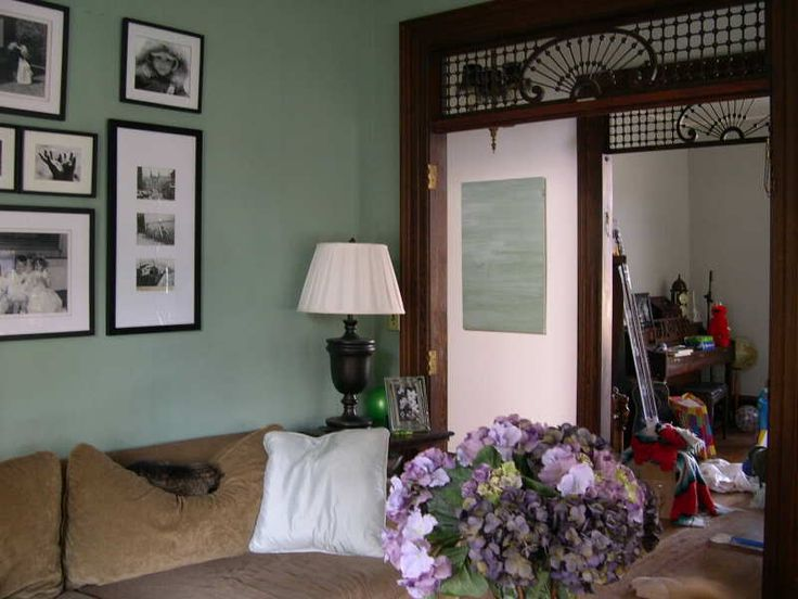 Green With Dark Trim Dining Room Design Ideas Pinterest