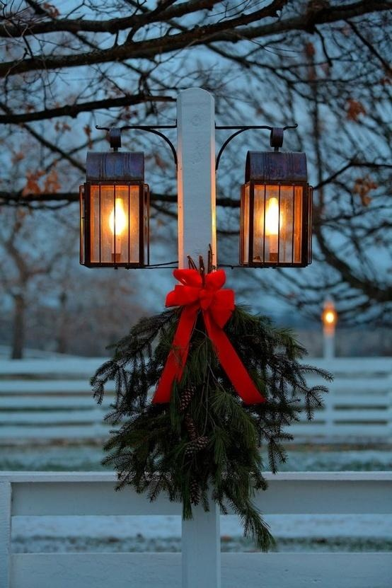 christmas lamp post between you and me and the lamp post
