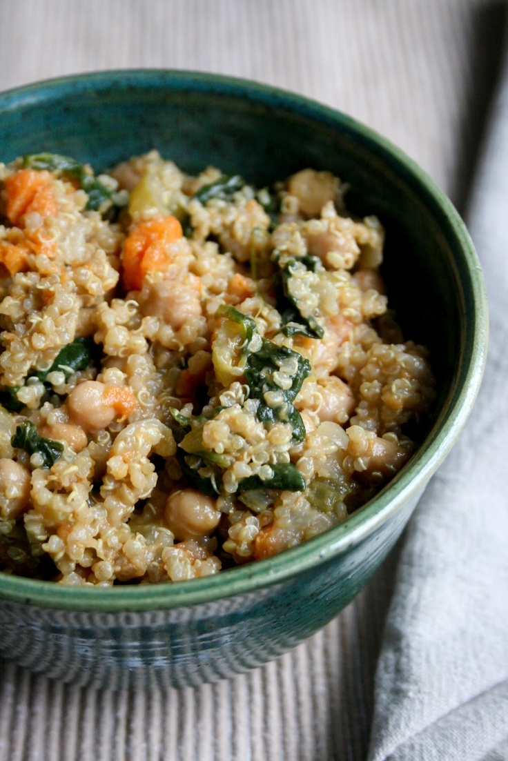 sweet potato and chickpea stew with quinoa recipe yummly quinoa sweet ...
