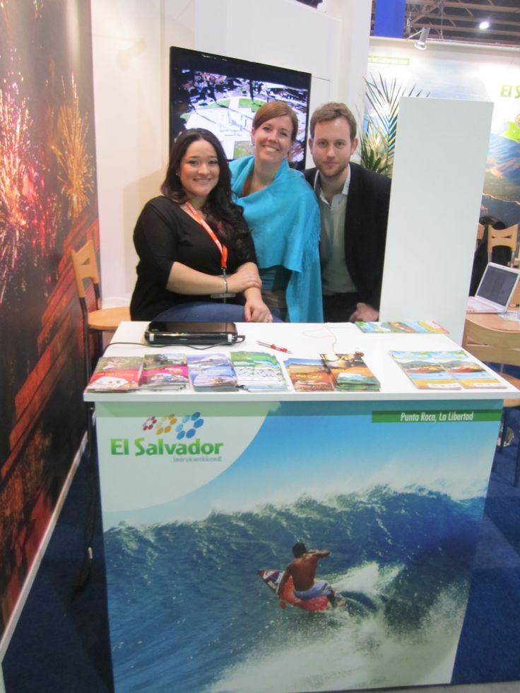 Vakantiebeurs 2014 el salvador represented by tourism marketing