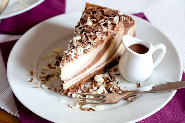 Triple Chocolate Cheesecake | Cheesecakes | Pinterest