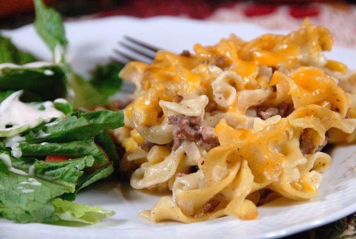 Beef Stroganoff casserole | Recipes - Casseroles | Pinterest