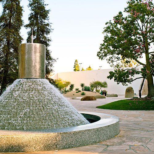 California Scenario A Sculpture Garden Inspiring Play