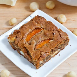 Apricot white chocolate macadamia nut blondies...this page is full of ...