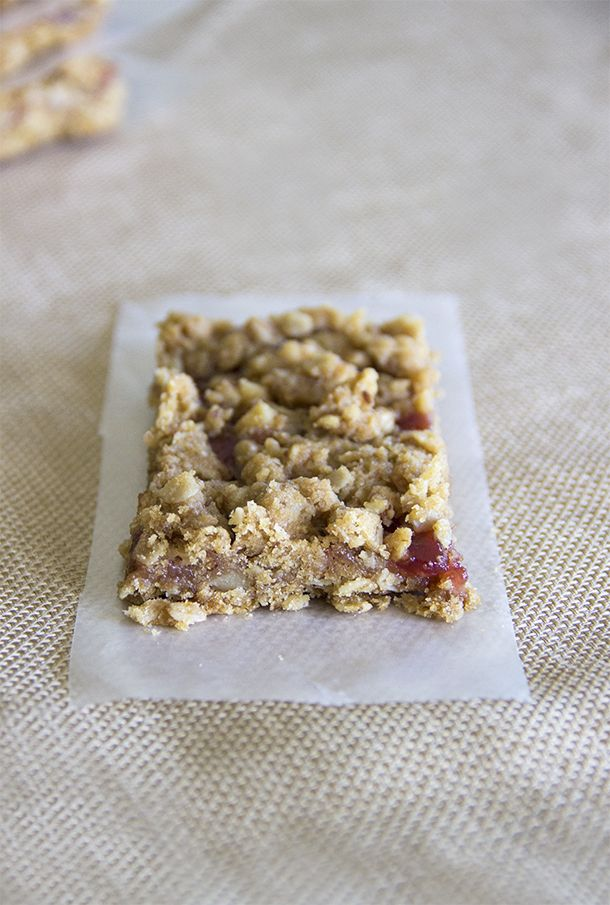 Strawberry Oat Bars - Natural Sweet Recipes