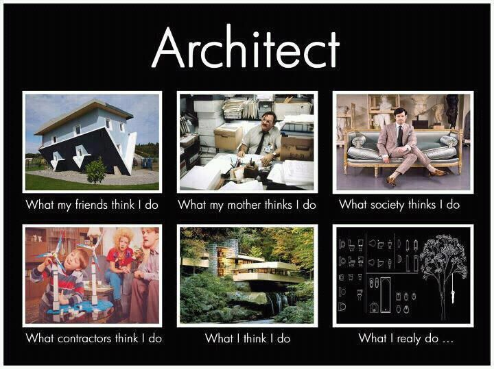 Architect what i really do pinterest for How do architects think