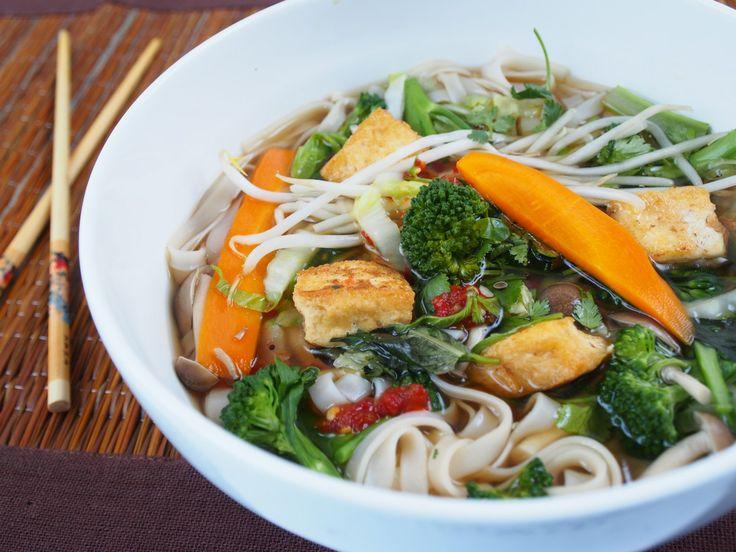 Vegan Pho Noodle Soup | Going Vegan | Pinterest