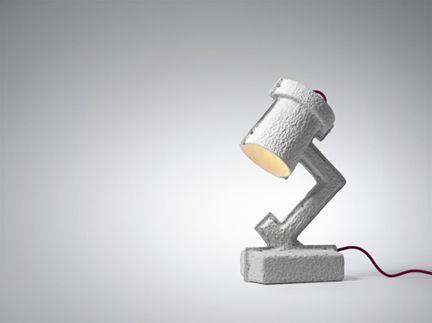 Trash Me Lamp  トラッシュミー ランプ  デザイナー: Victor Vetterlein