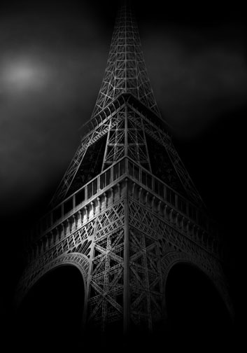 Tour Eiffel, by Irene Kung