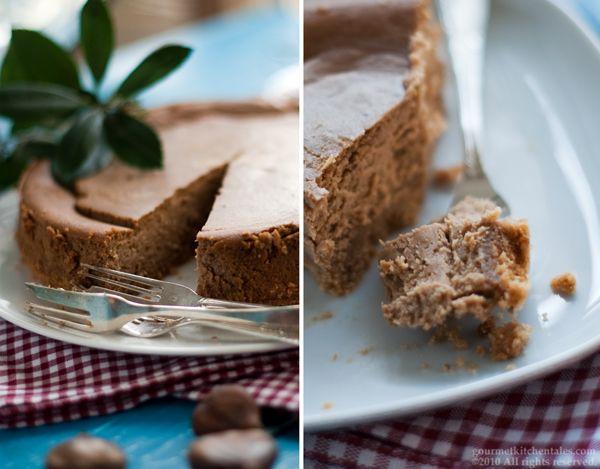 Chestnut Cheesecake Recipe — Dishmaps