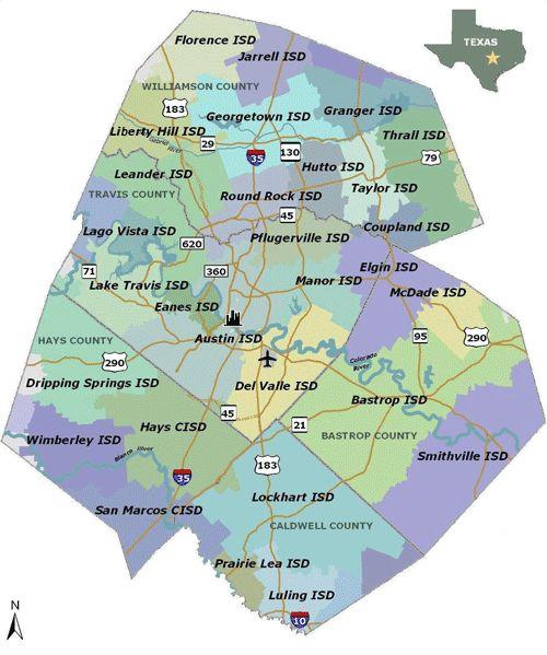 Austin Area Neighborhoods  Austin  Pinterest