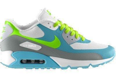 Nike Air Max 90 Hyp Premium iD Custom Women's Shoes - Yellow