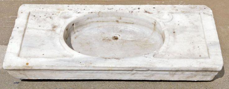 Vintage Marble Sink : antique marble sink Details Pinterest