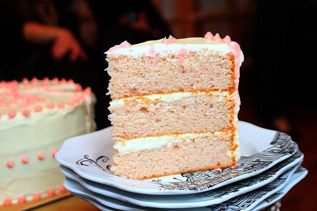 Pink Lady Cake - Strawberry cake with cream cheese frosting and ...