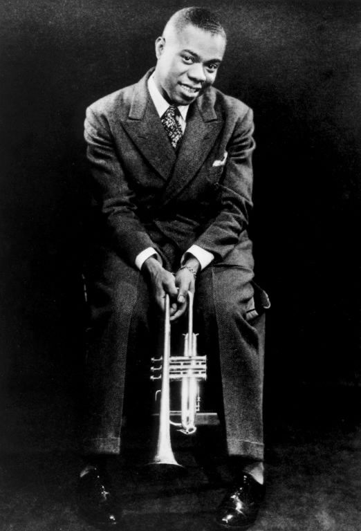 king of jazz louis armstrong Selmer trumpet, given as a gift by king george v of the  in his early years, armstrong was best known for his virtuosity with the cornet and trumpet  as well as those of the red onion jazz babies.