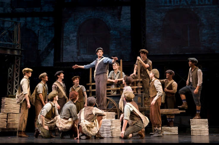 We're a union just by sayin' so! Newsies