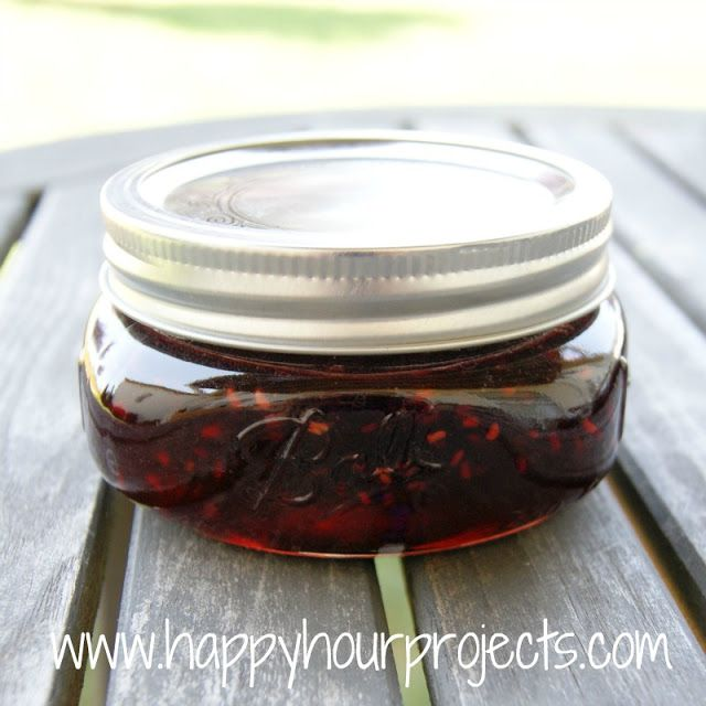 Raspberry-Pomegranate Jam Made this once already, doing it again today ...