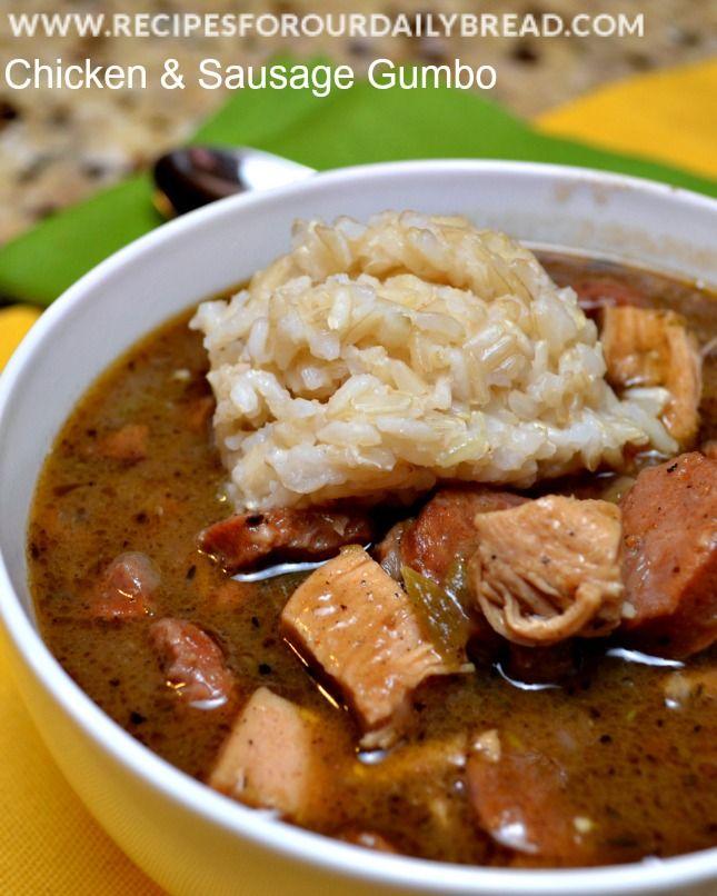 ... .com/2013/12/29/chicken-sausage-gumbo/ #gumbo #soup #comfortfood