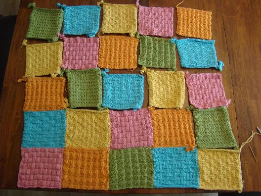 Knitted Patchwork Quilt Patterns Gallery - knitting patterns free ...