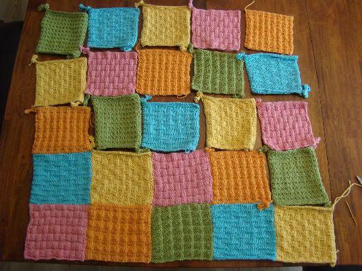 Knitted Quilt Block Patterns : Dream catcher baby blanket cobijitas pinterest