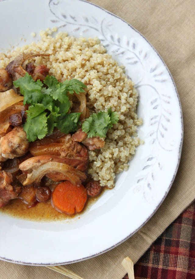 Slow Cooker Chicken Tangine