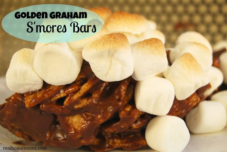 Golden Graham S'mores Bars | Recipe