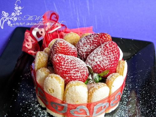 Strawberry Charlotte | Food - Just Cakes | Pinterest