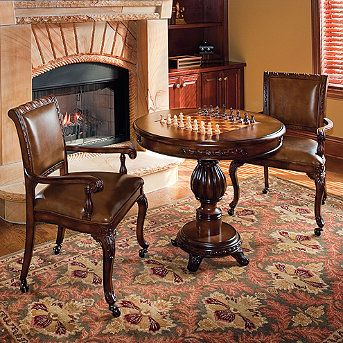Table Chairs And Chess Set Sets Pinterest