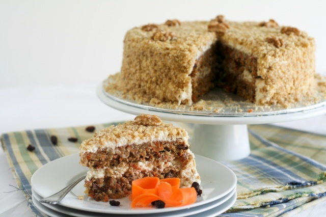 Carrot Cake and Cream Cheese Mousse - The healthiest carrot cake we ...