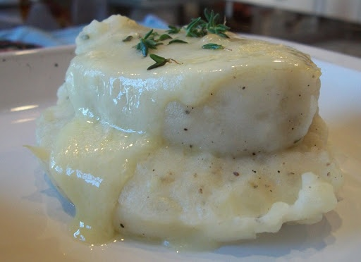 Garlic & Herb Velvet Mashed Potatoes | recipes to try | Pinterest