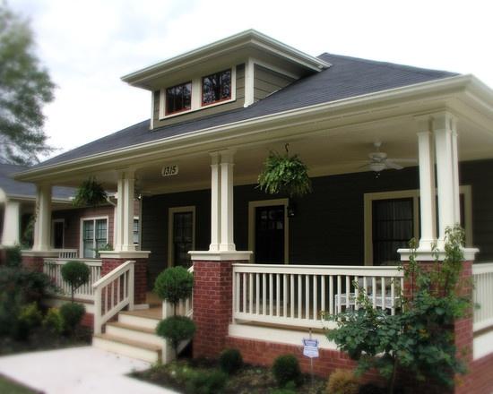 Bungalow Porch Home Pinterest