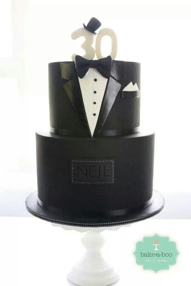 Tuxedo Cake Cakes And Cake Decorating Pinterest
