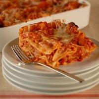 Tomato-Sausage Lasagna | Favorite Recipes | Pinterest