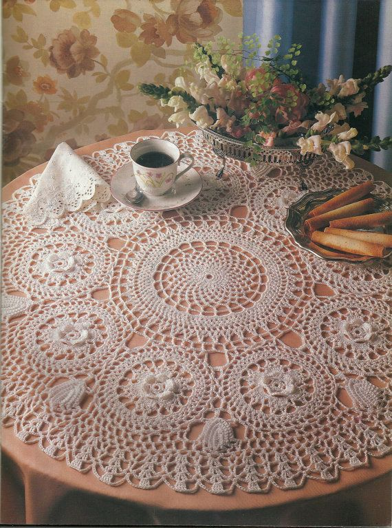 Crochet Stitches Decorative : Decorative Crochet Magazine, Thread crochet patterns, vintage crochet ...