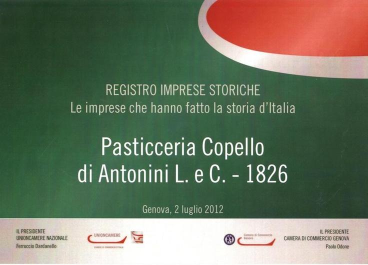Italian Historical  company Chambre of commerce
