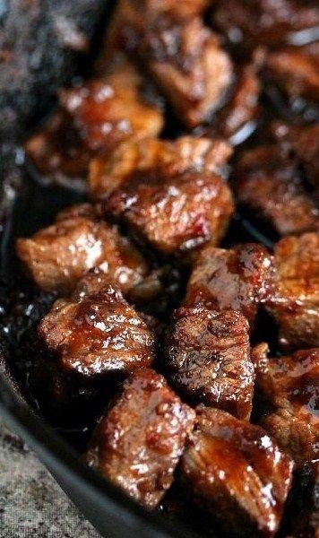 Steak Bites~ | Food & Drink | Pinterest