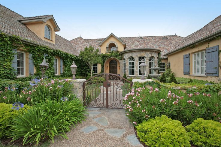 French Country Luxury Dream Home Pinterest