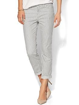 J Brand Aoki Tulum Brand Aoki Low Rise Cropped Pant | Piperlime