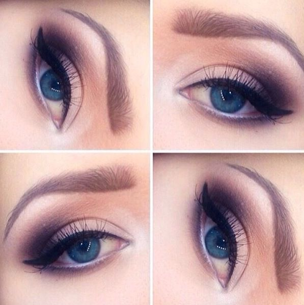 Perfect prom makeup look