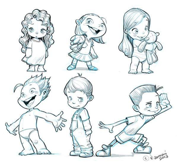 Character Design For Children S Books : Youssef zamani tutorials pinterest
