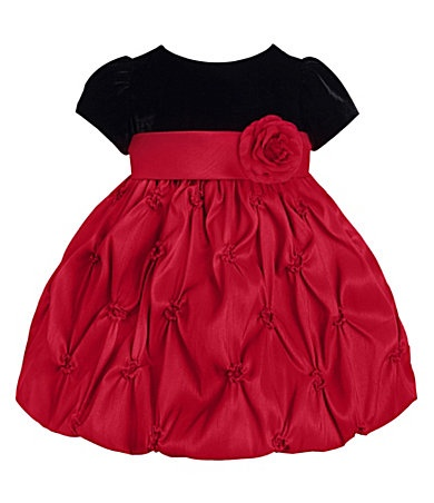 Baby girl dress for holiday pictures ruffles amp frills on little gir