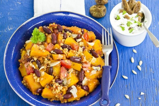 Squash, Lentils and Beans ... this looks amazing!